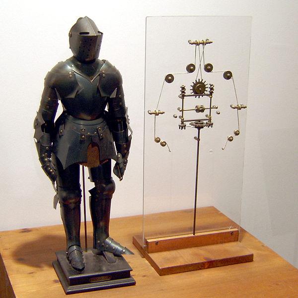 Leonardo da Vinci cavaliere meccanico