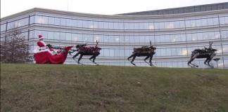 Babbo Natale Boston Dynamics renne robot