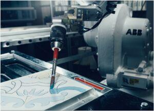 Robot pittore Decorobot di ABB