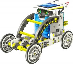 Kit robot solare con ruote e batterie
