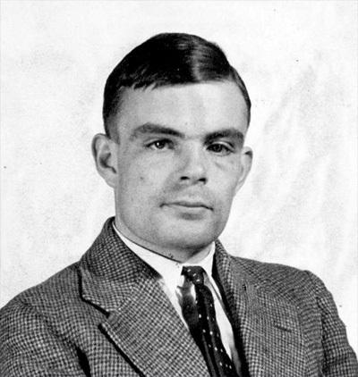 Alan Turing foto ammissione princeton 1934