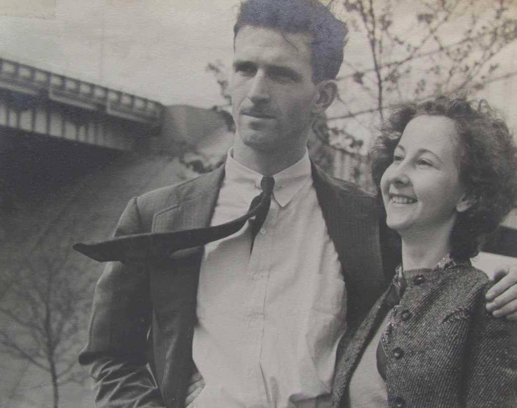 George Devol e la moglie evelin new york anni 40