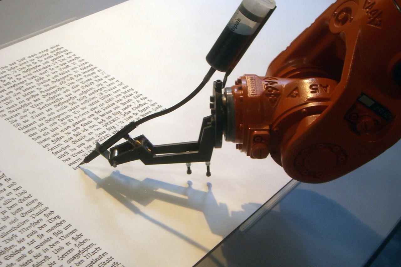 Il robot romanziere passa il test del premio letterario - Robotica News